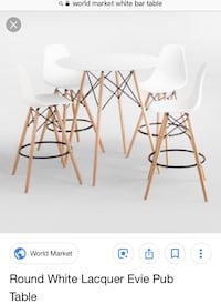 brown wooden table with chairs screenshot Round Hill, 20141