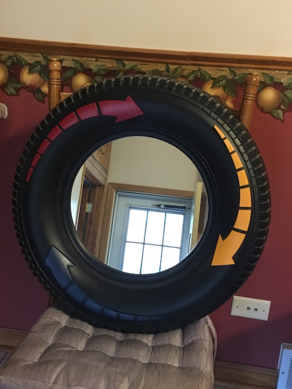 used home interior tire mirror for sale in south chicago heights letgo