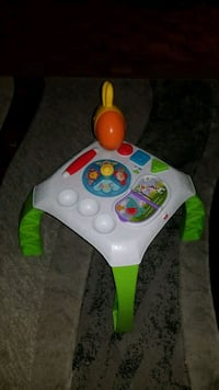 white and green Fisher-Price learning walker Toronto, M4B 2E4