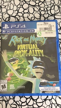 PSVR rick and morty Waterloo, N2V 2T5