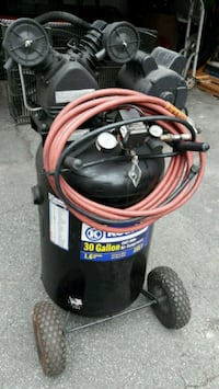 black and red pressure washer 523 mi