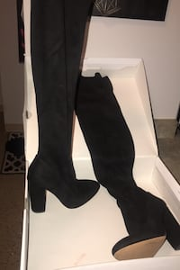 ALDO Black thigh high boots Hamilton, L8N 1B7