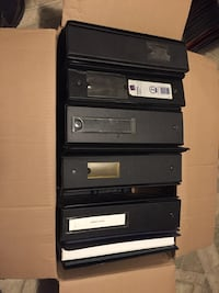 13 three ring binders with extras Etters, 17319