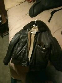 1970s leather bomber jacket Bloomsburg, 17815