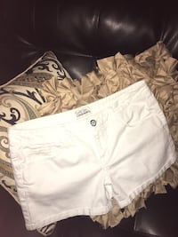 white and gray floral shorts Cameron, 28326