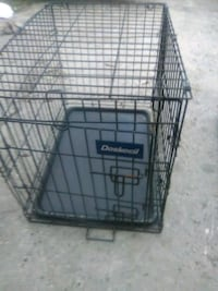 """Two dog crates both are 2' length x 17"""" wide x 19"""" height"""