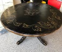 Distressed Hand Painted Dining Table Thousand Oaks, 91320