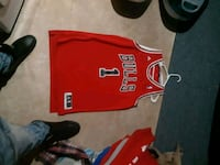 red and black Nike basketball jersey Thorold, L2V 3W5