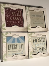 Various messages on tiles. Each tile comes with a stand. Set of 40 Waynesboro, 17268
