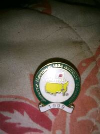 1999 masters tournament pin Wilsonville, 35186