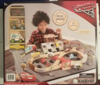 New KidKraft 50 pieces train Silver Spring