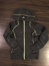 Grey and lime green TNA hoodie  Lincoln, L0R