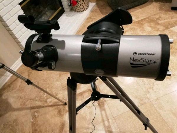 Used celestron nexstar 114gt motorized telescope 114mm for sale in