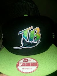 black and green New Era 9Fifty snapback Boston, 02124