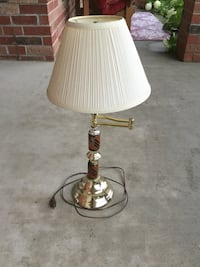 Brass Table Lamp - with Extension Arm Kitchener, N2P 2W6