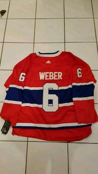 Shea Weber Montreal Canadiens Jersey  Vaughan