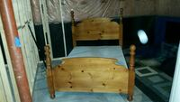 Double/Twin Quality Wooden bedframe Toronto, M4X