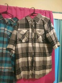 Men's 2x button up