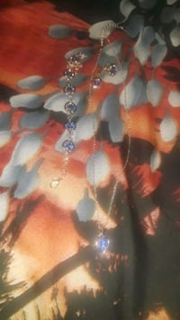silver and blue beaded necklace Wichita, 67217