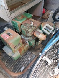 Old generator runs and works