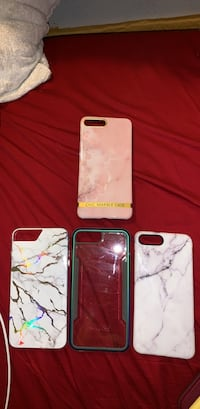 Four assorted-color iPhone 7/8 Plus cases Springfield, 22150