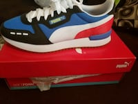 Mens multi color puma shoes size 10.5 District Heights, 20747