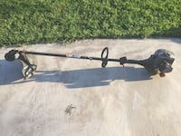 black and gray compound bow 2233 mi