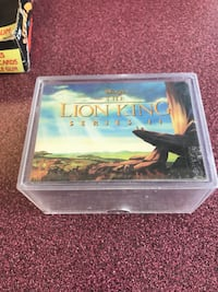 Lion king card set with pogs full card set !  Richmond Hill, L4C 3B8