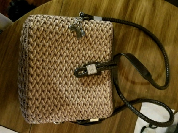 d025e652188 Used Brighton tan and black bag for sale in Hogansville - letgo