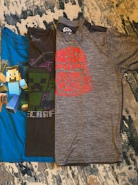 4 Boys Graphic T-shirts size 14/16
