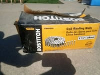"""Bostitch 1 1/2"""" roofing nails Tiffin"""