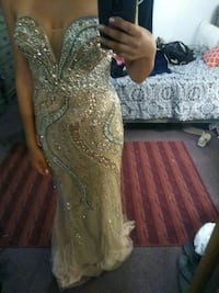 Gold prom dress Imperial, 92251