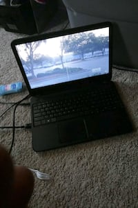 black laptop computer with power brick Baltimore, 21223