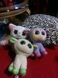 white and pink animal plush toy Castroville, 95012
