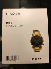 $350 Negotiable Nixon duo gunmetal/ gold.  Good condition Carlsbad, 92009