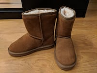 Real suede booties very warm - Size 4 (EU 34) Richmond