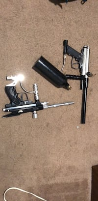 two black and gray paintball guns Downey, 90240