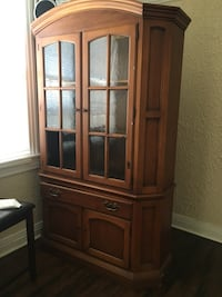 brown wooden china cabinet New Orleans, 70119