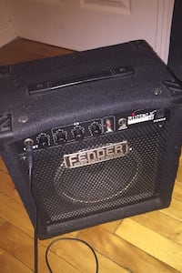 Fender Rumble Bass Amplification speaker/ perfect for anything