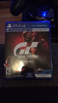 Sony PS4 Gran Turismo 5 game case Syracuse, 13203