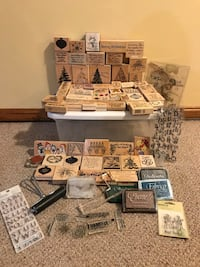 Rubber stamps and supplies