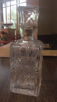 clear glass decanter with lid Berlin, 21811
