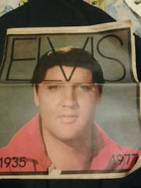 1935 1977 Elvis Presley record sleeve