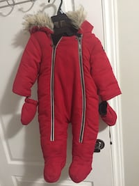 toddler's red fur jacket Mississauga, L5W 1W7