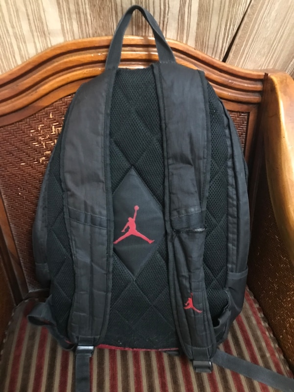 bcb71ebc21cc5e Used Black and Red Jordan Backpack for sale in Berkeley - letgo