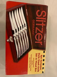 Slitzer steak knife set