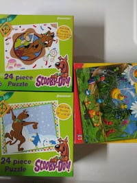 24. piece Scooby Doo and Sunny Patch Friends Puzzl