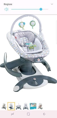 baby's gray and white bouncer Calgary, T2A