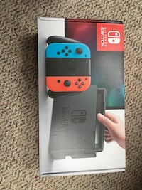 NEW IN BOX SEALED DAY ONE EDITION NINTENDO SWITCH CONSOLE