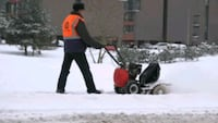 Snow plowing Pickering
